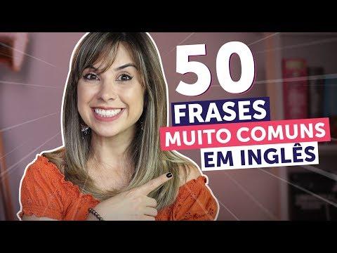 50 FRASES ESSENCIAIS EM INGLÊS (em 10 minutos!)   Inglês para Iniciantes
