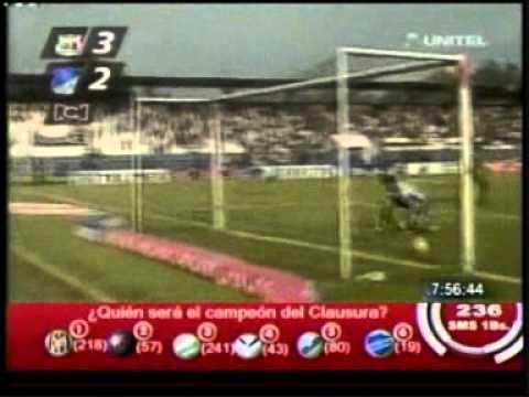 Primer gol de Salinas en Colombia
