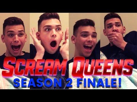 SCREAM QUEENS 2x10 FINALE REACTION!!