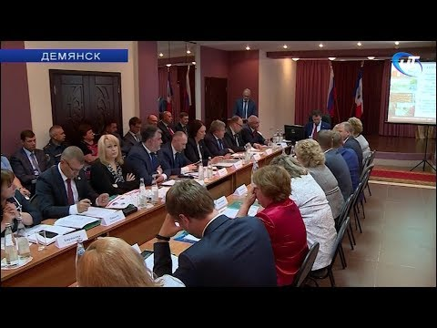 В Демянске прошло выездное заседание Правительства Новгородской области