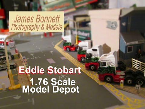 Eddie Stobart 1:76 scale model depot