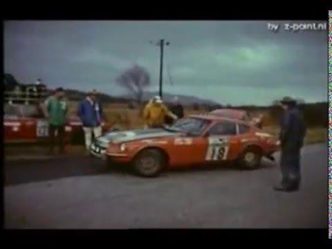 RALLYE VOITURE DATSUN 240Z-1971 - E. Herrmann 1/18 new in box rallye