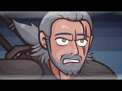 Ведьмак 3 - Мультик (Ведьмак пародия)