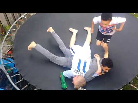 Video Epic WWE triple threat match on trampoline download in MP3, 3GP, MP4, WEBM, AVI, FLV January 2017