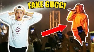 Video WEARING FAKE GUCCI TO LIL PUMP TOUR!! (CALLED OUT!!) MP3, 3GP, MP4, WEBM, AVI, FLV Mei 2018