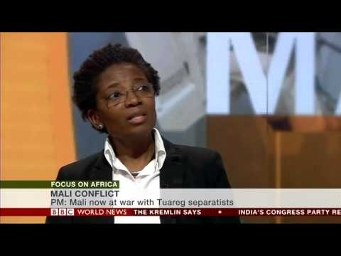 Dr. 'Funmi Olonisakin on BBC Focus on Africa', May 2014