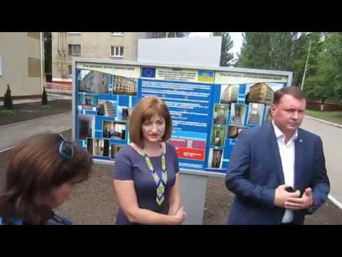 Пиар перед открытием общежития, ЕС в Краматорске. 24. 05. 2018. (видео)