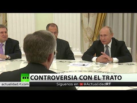 Vladímir Putin se reune con el asesor de seguridad del presidente estadounidense