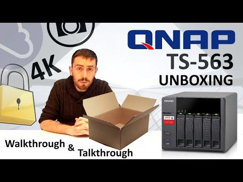 Qnap Ts 563 8g Desktop Nas 30tb 5 Bay Raid 0 1 5 6 8gb