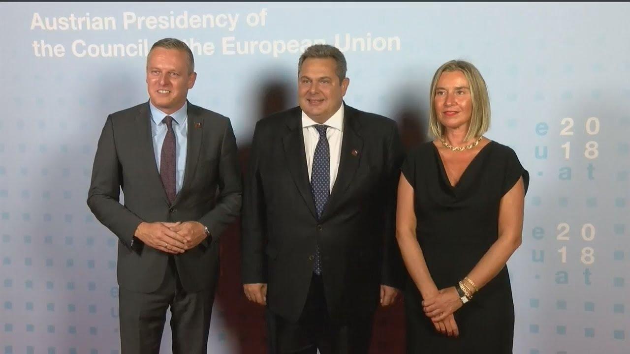 Οι υπουργοί Άμυνας της Ευρωπαϊκής Ένωσης στη Βιέννη