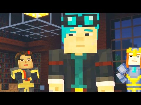 Minecraft: Story Mode - Walkthrough Part 4 - Episode 6: A Portal to Mystery - Chapter 4