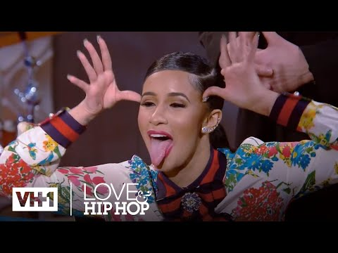 Cardi B Throws Her Shoe At Asia & A Fight Breaks Out | Love & Hip Hop