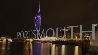 Portsmouth United Kingdom  city photos : Portsmouth UK Time Lapse HD and 4K