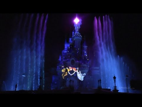dlrpmagicvideo - Disney Dreams! Opening Night at Disneyland Paris - the very first public performance filmed up-close from the front row in 1080p HD by http://www.dlrpmagic.c...