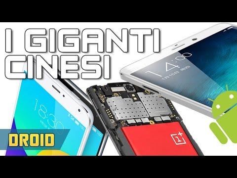 top 5 dei migliori smartphone android cinesi