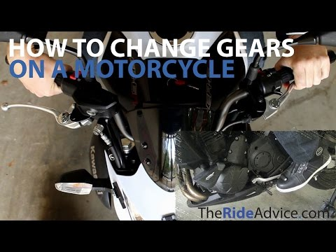 How to Change Gears on a Motorcycle - Shift Gears on a Motorbike
