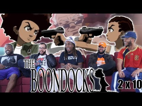 "The Boondocks 2 x 10 Reaction! ""Home  Alone"""