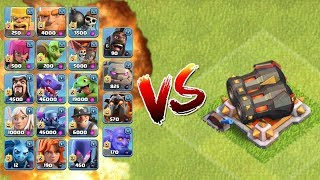 Video ALL TROOPS vs DOUBLE CANON - CLASH OF CLANS | ALL UNITS vs GEARED UP CANON !! | OMG ! WHO WINS?| COC MP3, 3GP, MP4, WEBM, AVI, FLV Juli 2017