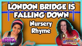 London Bridge is Falling Down, Nursery Rhymes with lyrics