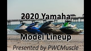 8. 2020 Yamaha Waverunner Model Lineup Debut