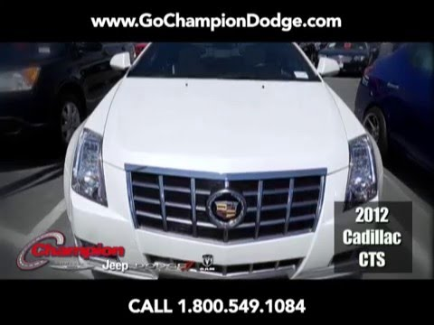 2012 Cadillac CTS for Sale - Los Angeles, Cerritos, Downey, Long Beach CA - PREOWNED SPECIAL