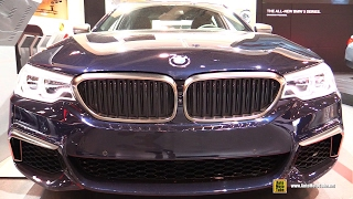 2017 BMW M550i xDrive - Exterior and Interior Walkaround - 2017 Toronto Auto Show