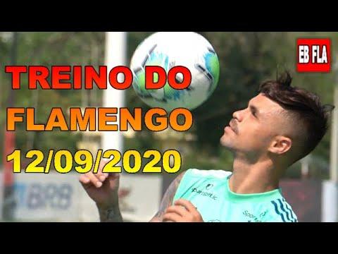 TREINO DO FLAMENGO - 12/09/2020.