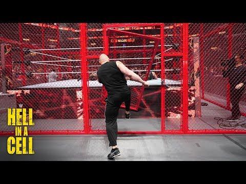 Brock Lesnar kicks the Hell in a Cell door off its hinges: WWE Hell in a Cell 2018_A héten feltöltött legjobb sport videók