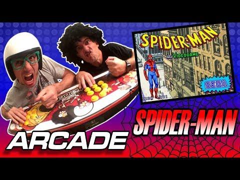 Jogando Spider-Man the Videogame no Arcade dos Irmãos Piologo