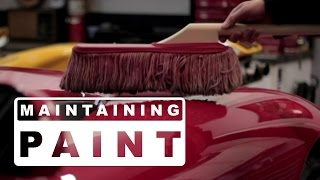 In this video I show how I maintaining a flawless paint job without pulling out the hose and buckets and I also give a short review of Ultima Waterless Wash Plus.  Using a California Duster and Ultima Waterless Wash (or a quality detail spray) with good technique you can keep your car show ready with no swirls, scratches or love marks and it just takes a few minutes.