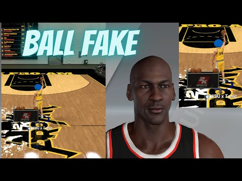 HOW to do the MICHEAL JORDAN BALL FAKE in NBA 2K21! BEST TRIPPLE THREAT STYLE 2K21!