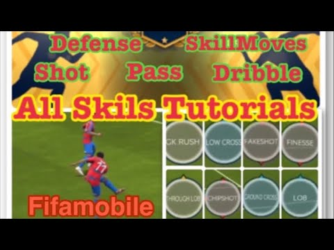 Fifamobile20, All Skill Tutorials & Tip & Tricks, Skill Moves, Shot, Pass, Dribble, Defense