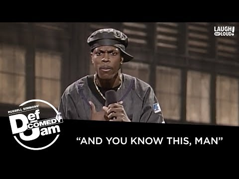Chris Tucker Talks Rats, Roaches, Pimps and Jacksons | Def Comedy Jam | Laugh Out Loud Network