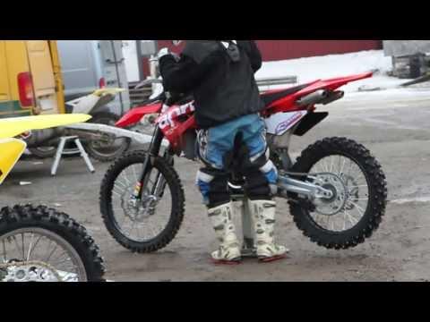 Aprilia MXV 450 test