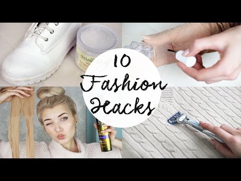 10 Fashion Life HACKS Everyone Should Know