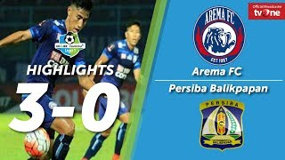 Video Arema FC vs Persiba Balikpapan 3-0 All Goals & Highlights MP3, 3GP, MP4, WEBM, AVI, FLV Maret 2018