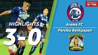 Video Arema FC vs Persiba Balikpapan 3-0 All Goals & Highlights MP3, 3GP, MP4, WEBM, AVI, FLV November 2017