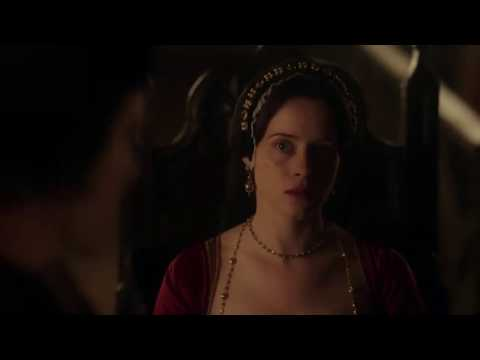 Claire Foy - Queen Anne Boleyn is Sentenced to Death. Wolf Hall EP6