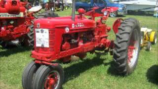Farmall Tractors At The 41st Southeast Old Threshers Reunion 7/1/11
