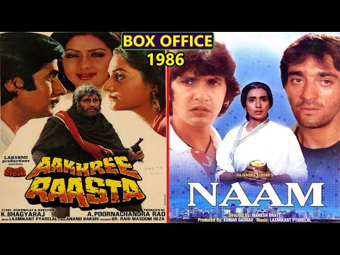 Aakhree Raasta vs Naam 1986 Movie Budget, Box Office Collection, Verdict and Facts