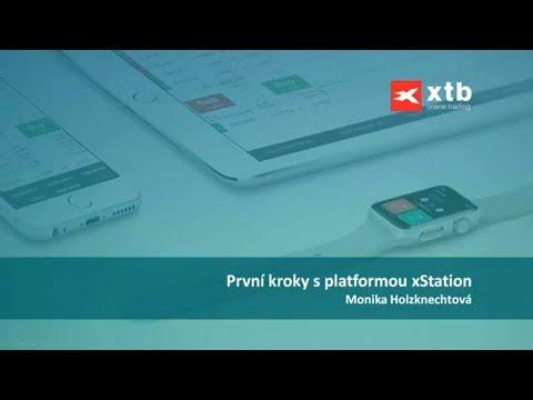 První kroky v platformě xStation
