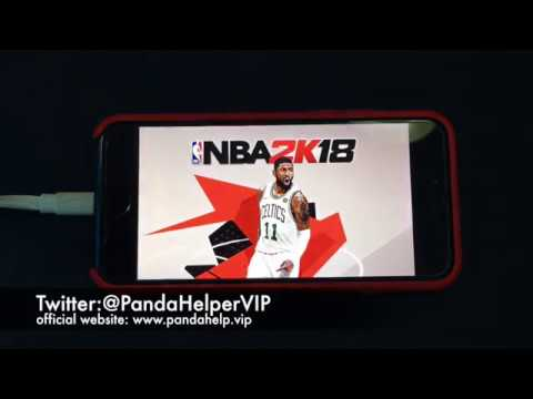 Panda Helper:how to download NBA 2K18 for free on iOS devices without jailbreak