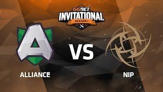 Alliance против NiP, Первая карта, Play-Off, GG.Bet Dota 2 Invitational