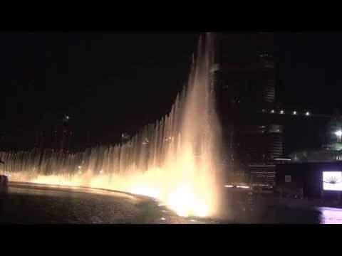 DUBAI FOUNTAIN HD 2015 - Hussain Al Jasmi