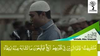 Ustadz Abu Usamah Lc   Surat Ali Imran ayat 1 - 9