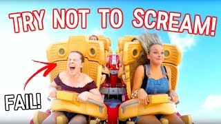 Video Try Not to Scream Challenge on Crazy Rollercoaster! MP3, 3GP, MP4, WEBM, AVI, FLV Oktober 2018