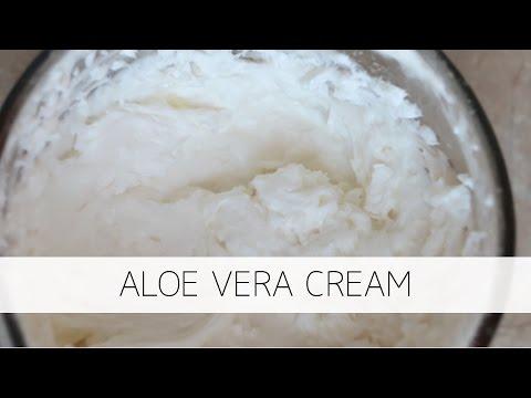 DIY Aloe Vera Cream