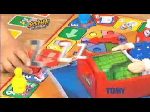 7149 Sshh Tomy Don't Wake Dad Action Game