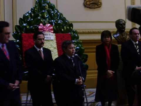 Ceremonia en el Congreso por el 79 Aniversario del  Partido Aprista Peruano