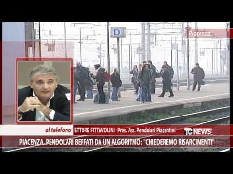 Piacenza, pendolari beffati da un algoritmo:
